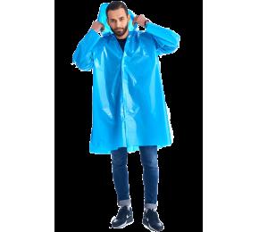 Дождевик-плащ «Люкс» голубой